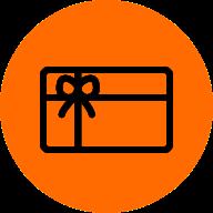 Vales y tarjetas regalo